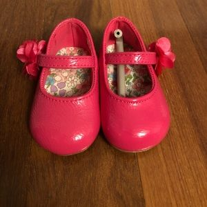 Baby Deer Pink Patent Leather Maryjanes